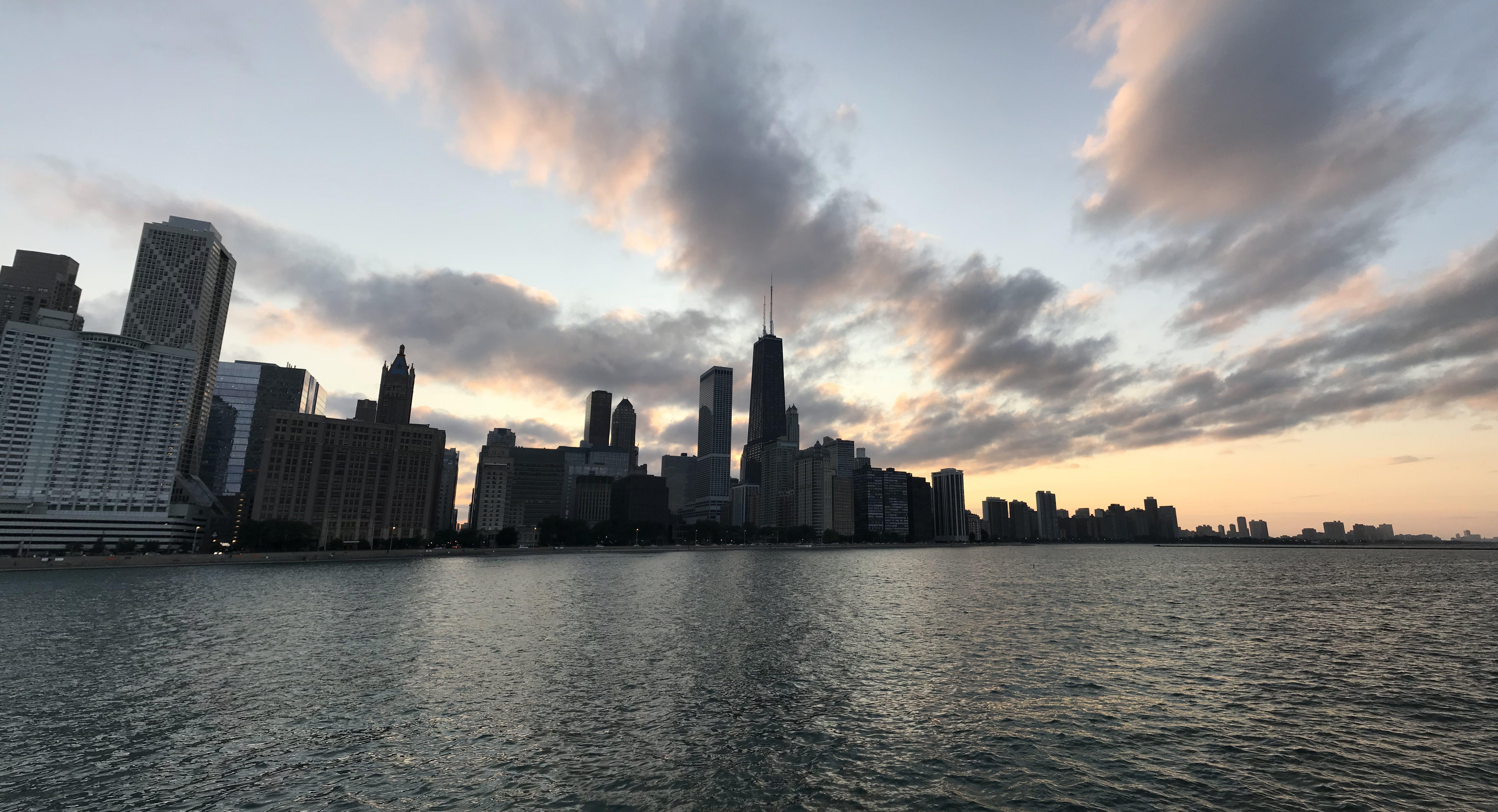 big city, chicago, city