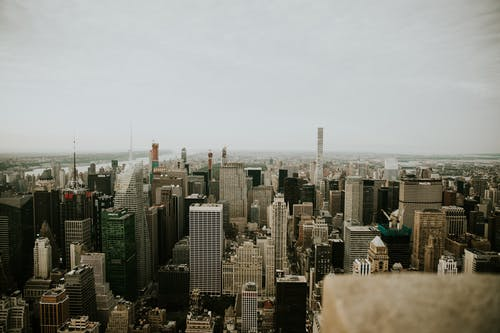 シティ, ダウンタウン, ニューヨーク, 上からの無料の写真素材