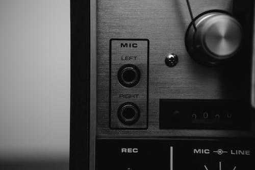 Kostenloses Stock Foto zu audio, aufnahme, gerät, klang