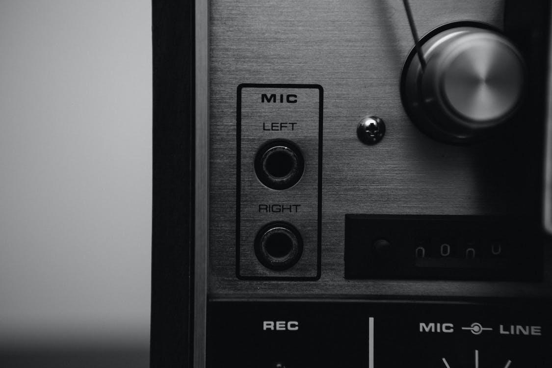 기기, 기술, 녹음