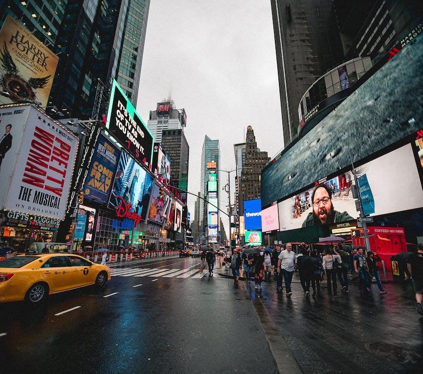 місто Нью-Йорк, Нью-Йорк, Таймс-сквер