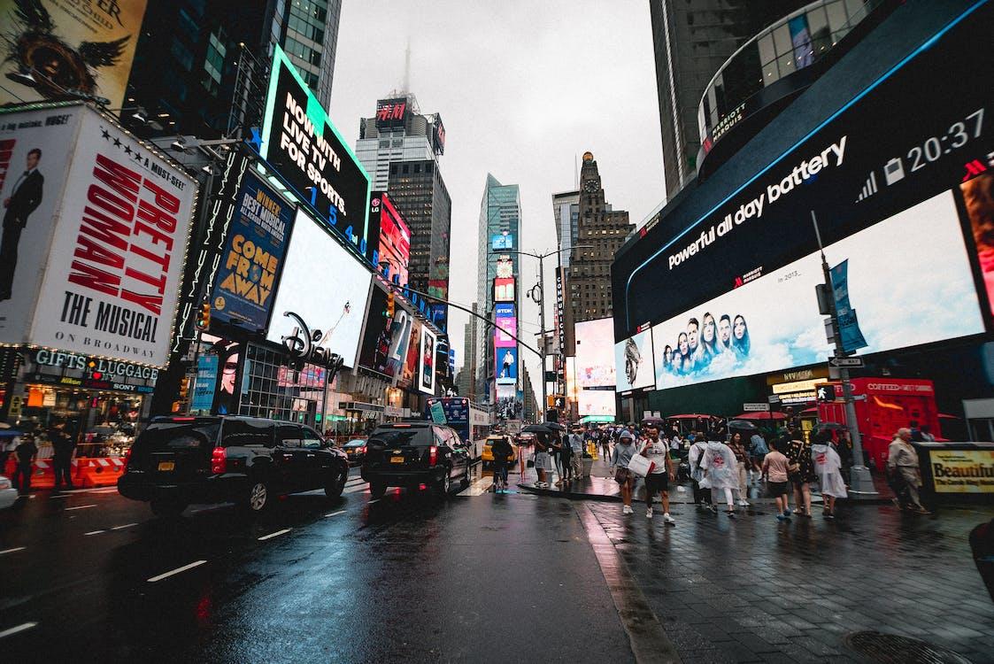 Broadway, carrer, carretera