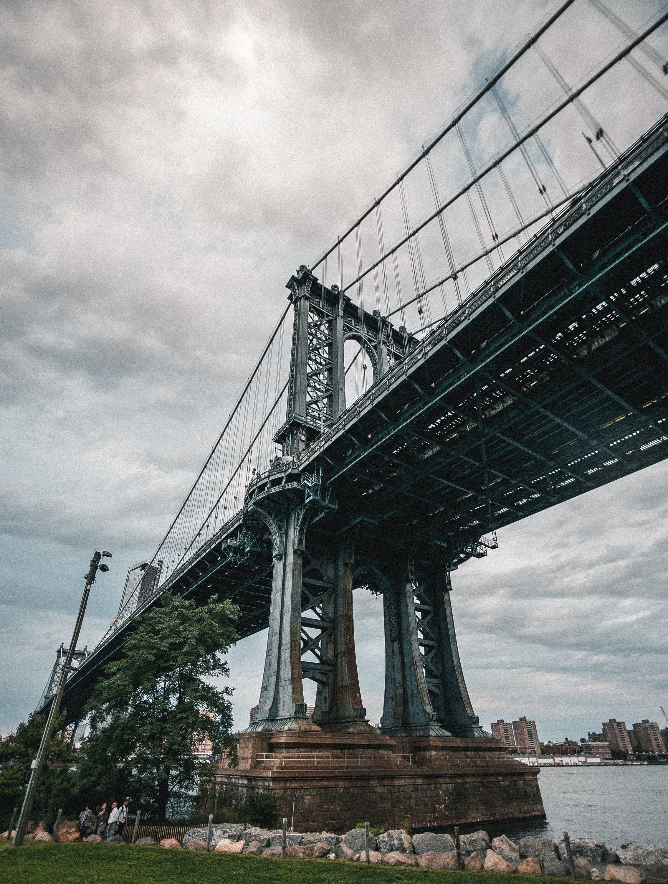 Free stock photo of bridge, brooklyn, manhattan, new york