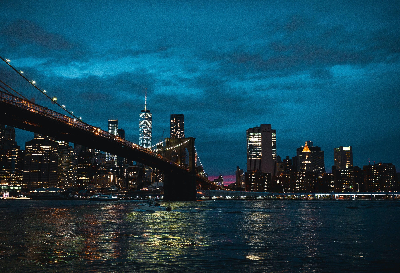 Brooklyn Bridge during Nighttime