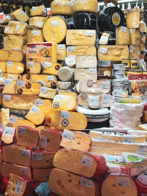 Základová fotografie zdarma na téma sýr, trh