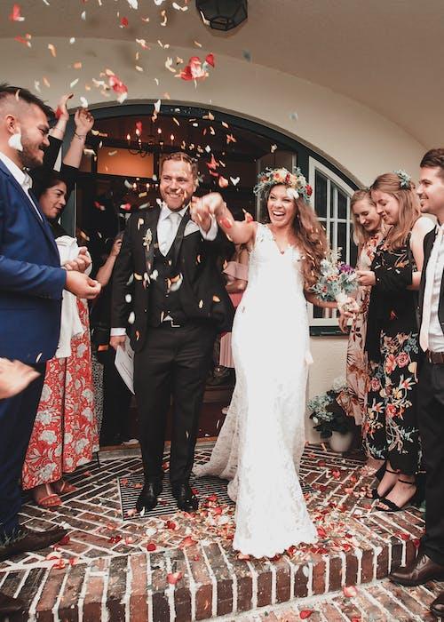 Kostnadsfri bild av bröllop, bröllopsdag, bröllopsklänning, brud