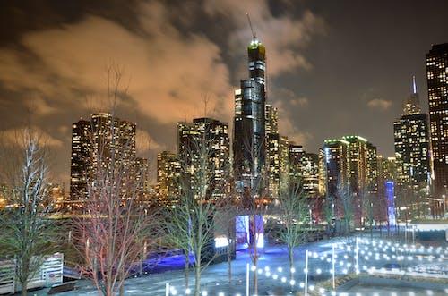 Foto d'estoc gratuïta de centre de la ciutat de chicago, chicago, gratacels, moll de marina