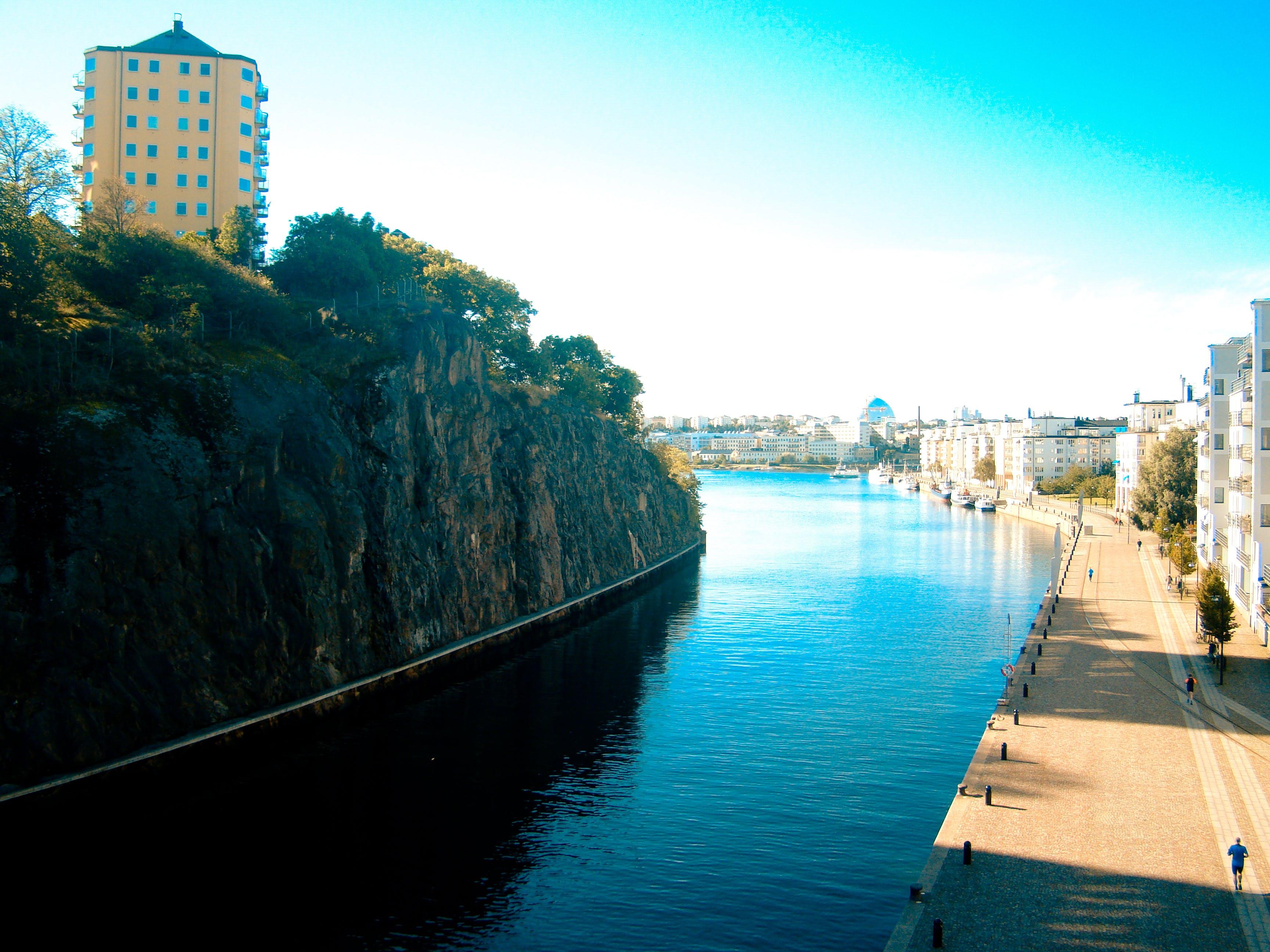 Free stock photo of canel, city