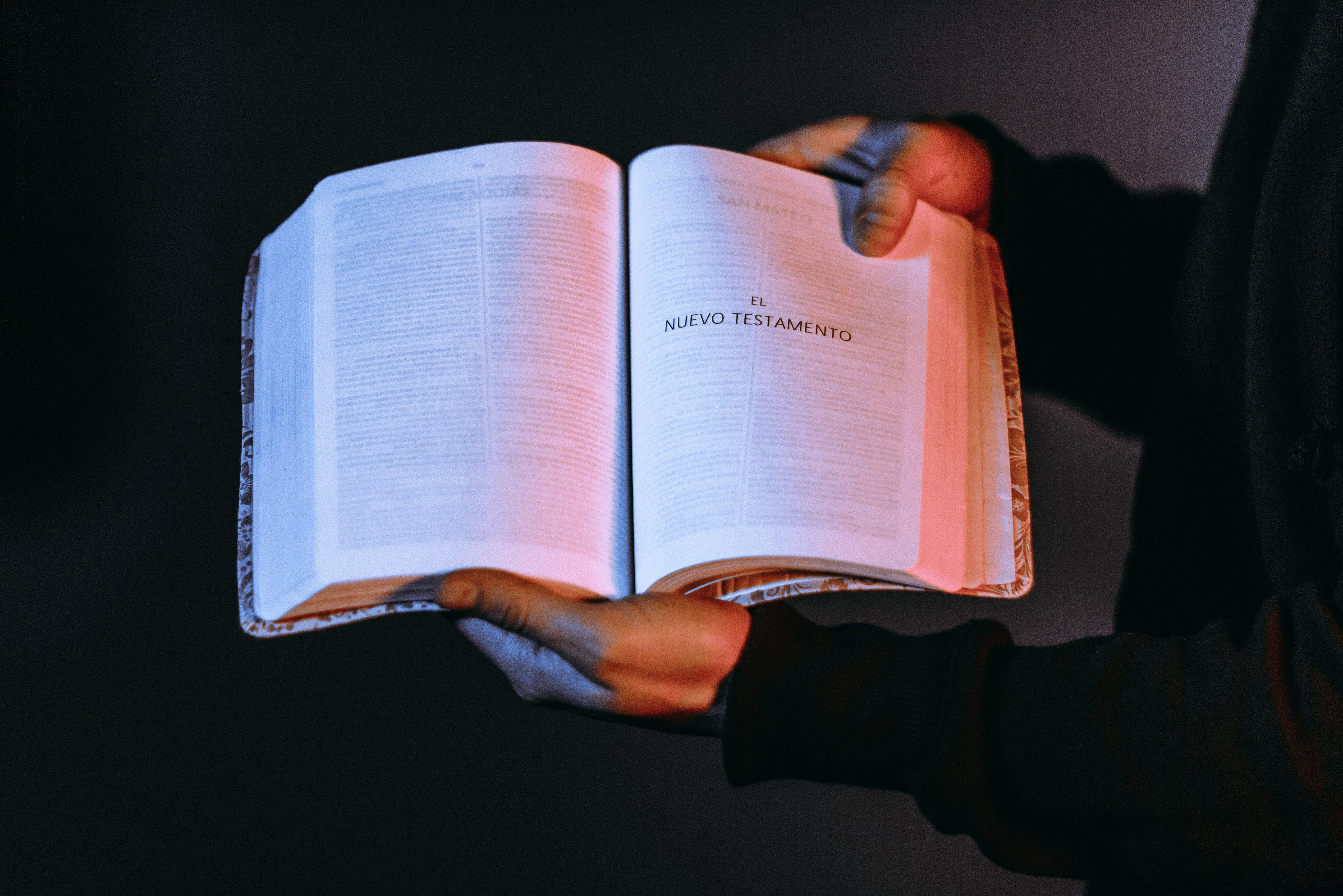 Kostenloses Stock Foto zu altes testament, bibel, buch, neues testament