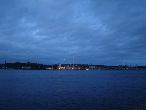 Free stock photo of city, nature, night