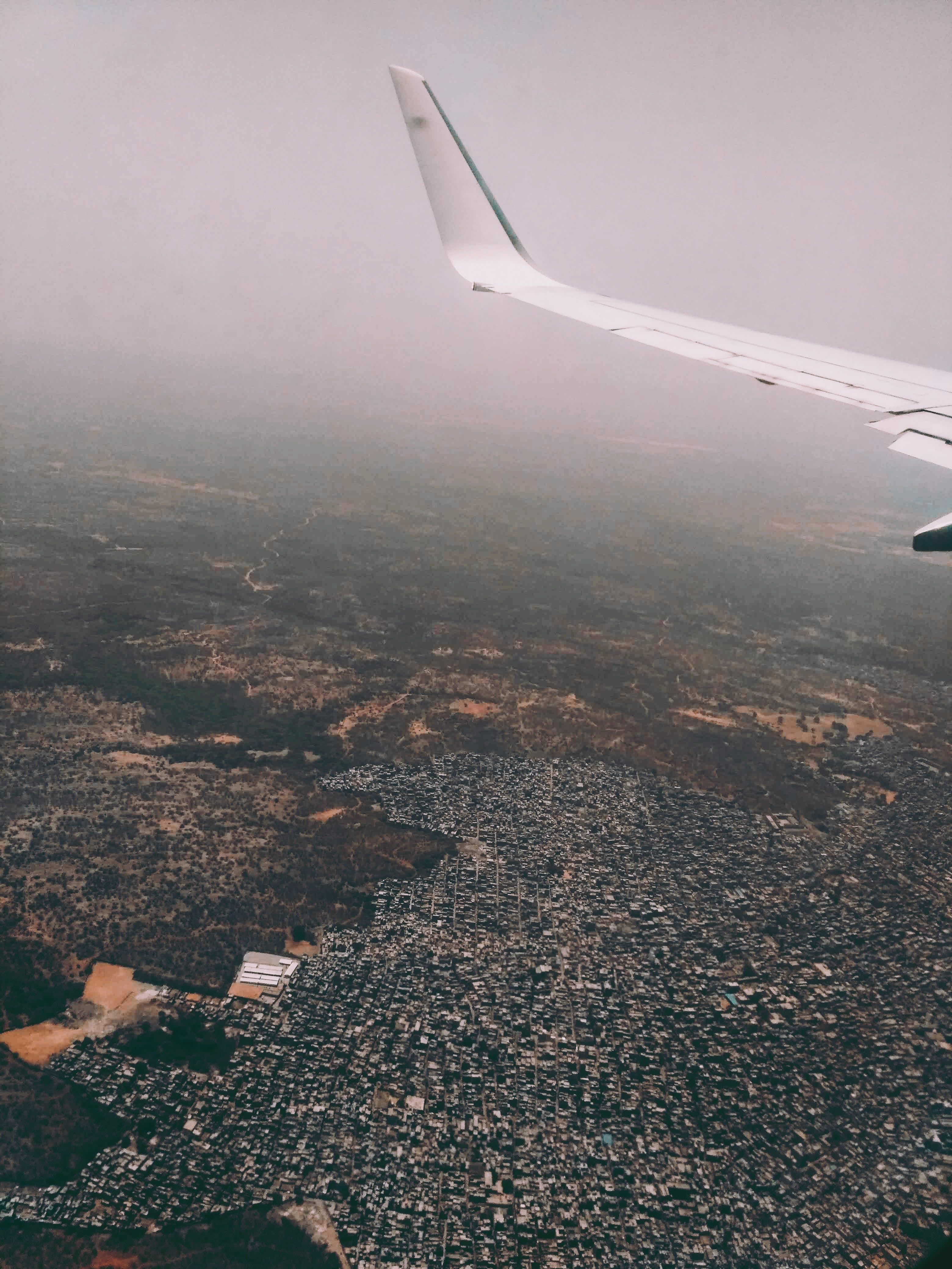 Ingyenes stockfotó ég, föld, jármű, köd témában