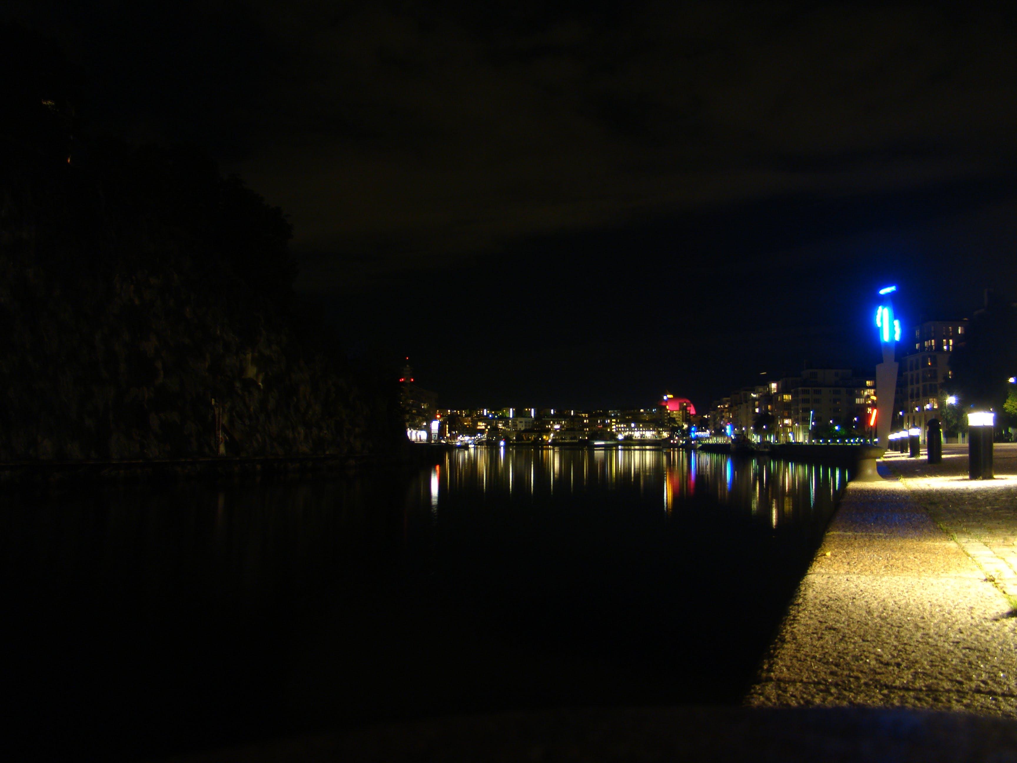 Free stock photo of light, night, sweden, reflex