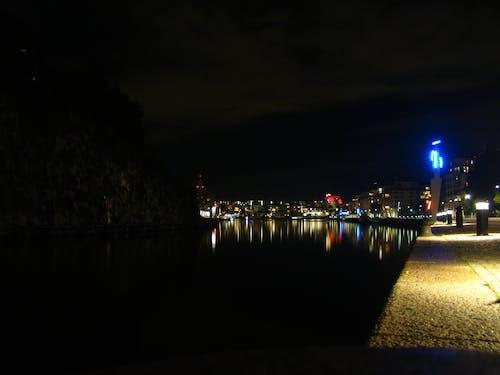 Free stock photo of light, night, reflex, sweden