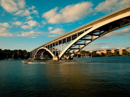 Free stock photo of bridge, nature, ocean, sweden
