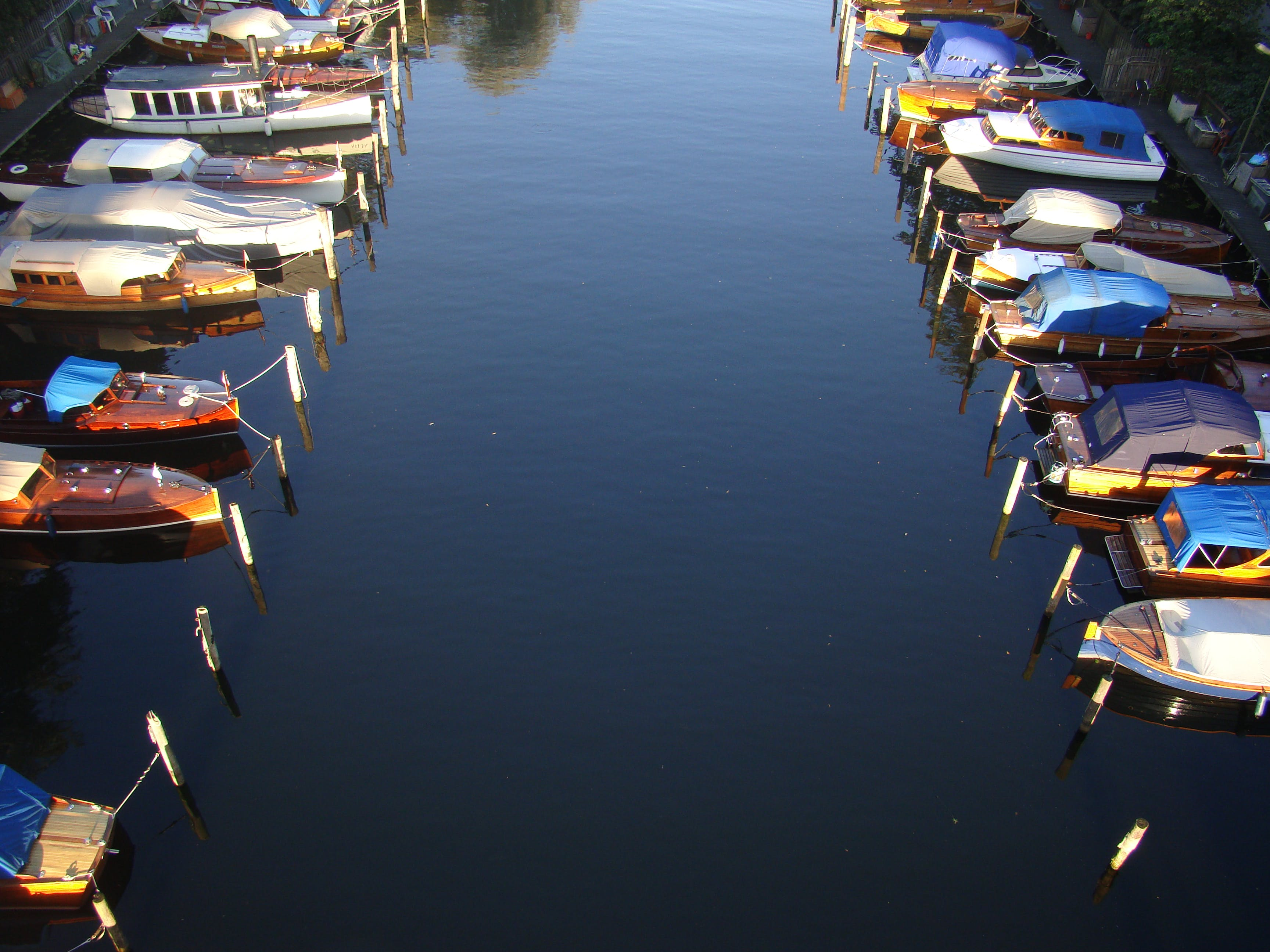 Free stock photo of nature, boat, sweden, canel