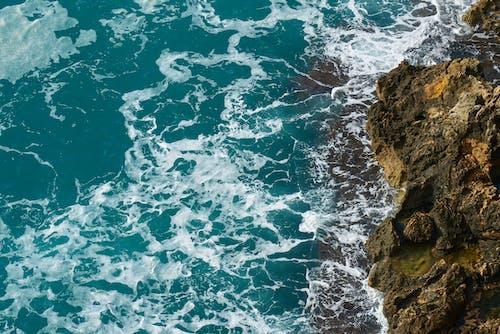Bird's-eye View Photography of Ocean