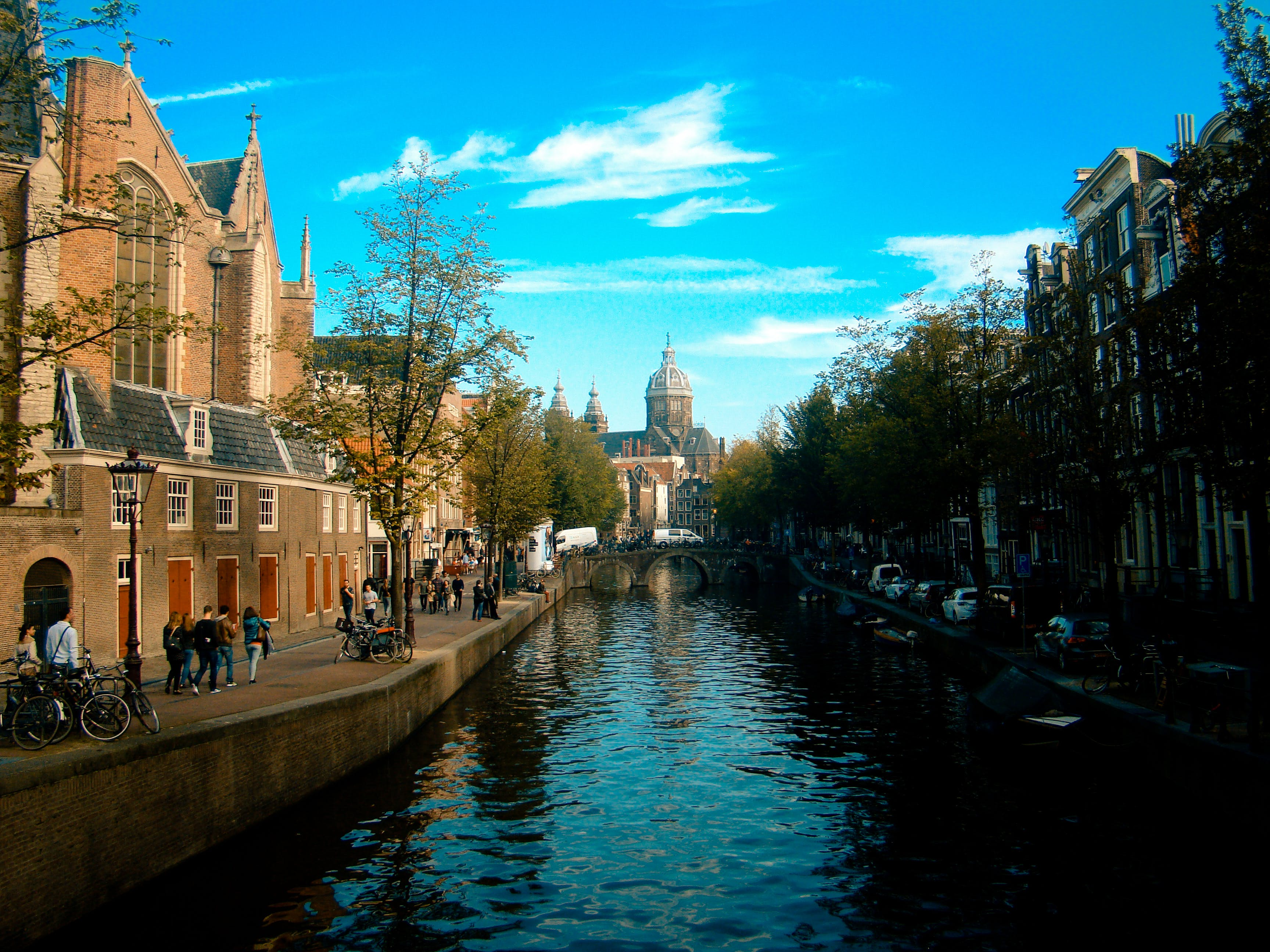 amsterdam, architecture, bridge