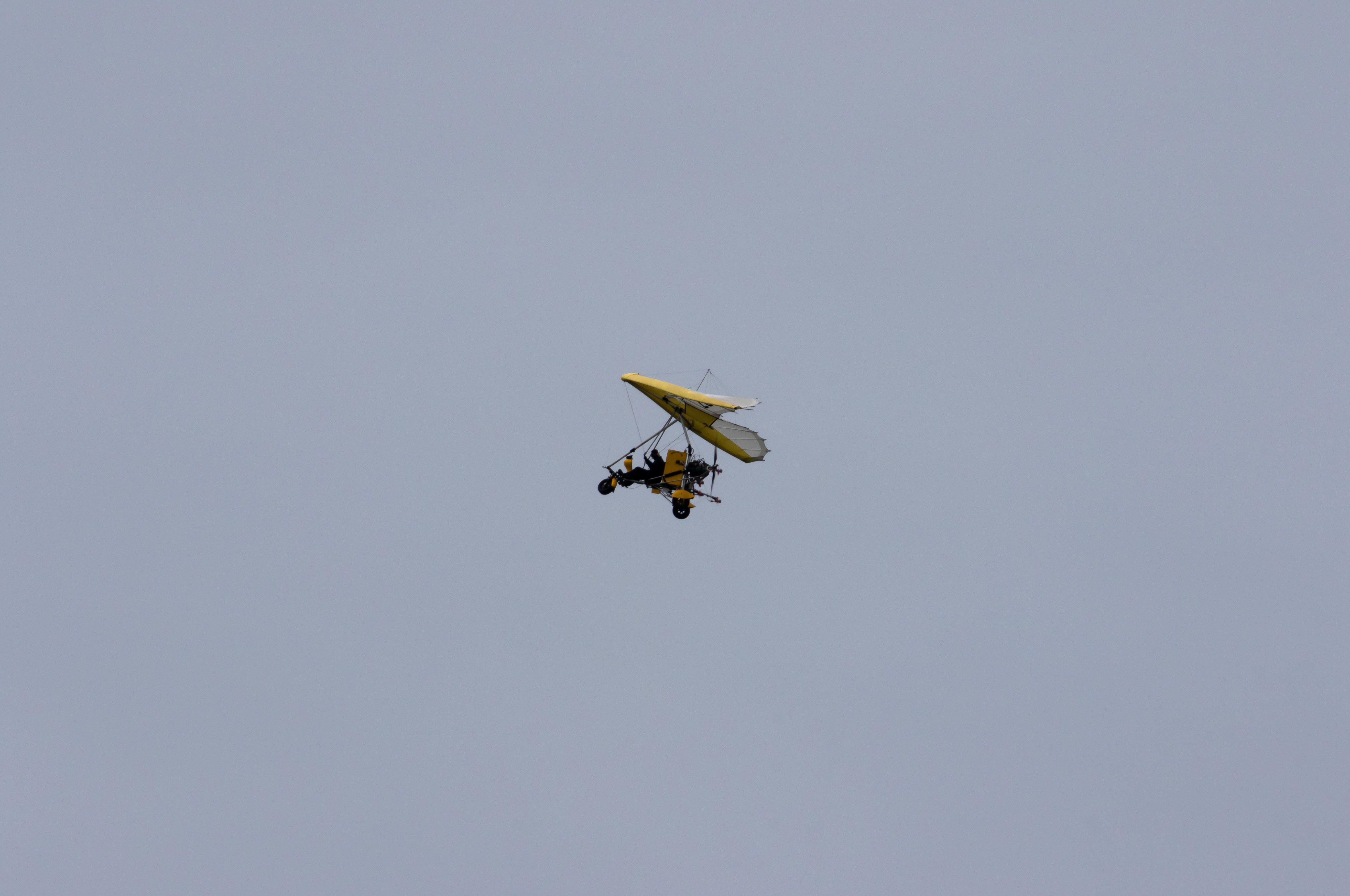 Free stock photo of adventure, aeroplane, blue sky, explore