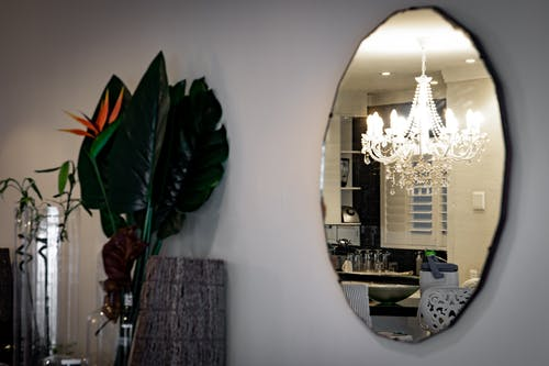 Oval Wall-mounted Mirror