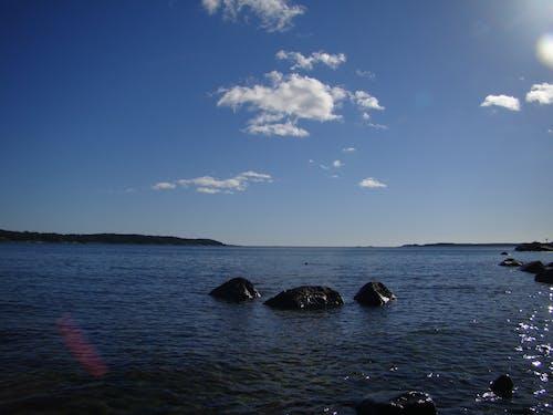 Free stock photo of nature, ocean, reflex