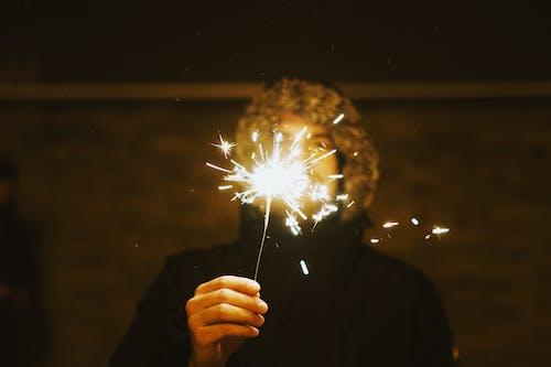 Immagine gratuita di celebrare, celebrazione, scintille, stelline