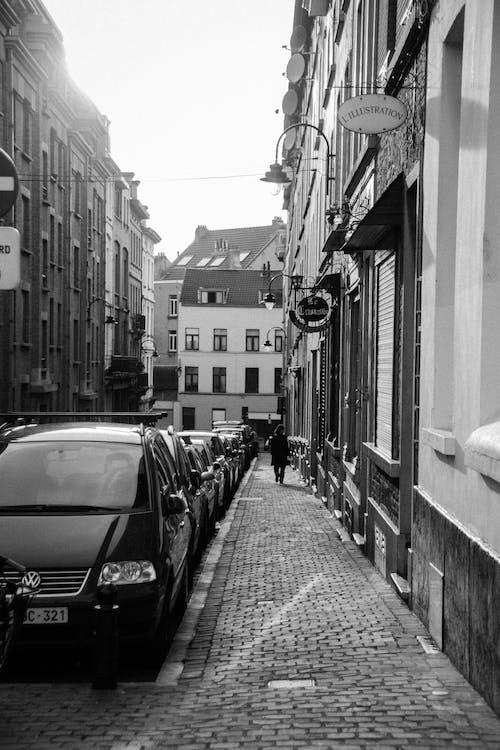 các tòa nhà, đậu, đậu xe