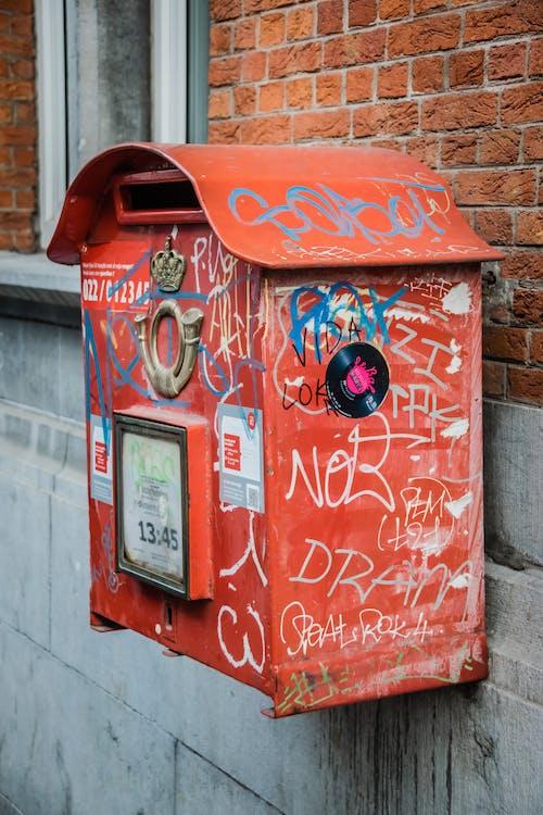 Photos gratuites de boîte aux lettres, dégradé