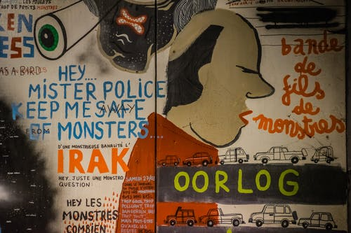 Photos gratuites de graffiti, manifester, prendre la parole