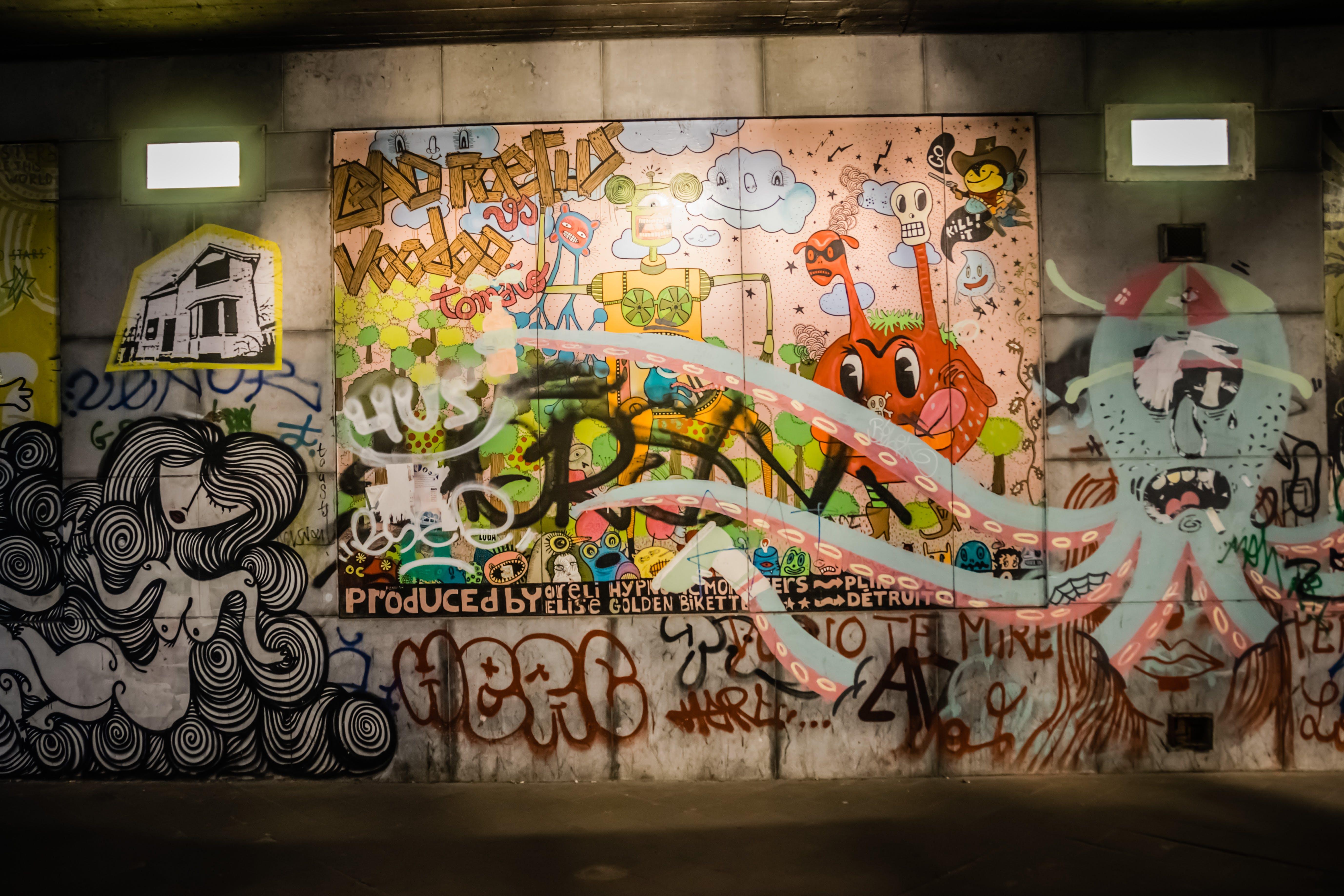 graffiti, kunst