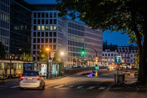 Photos gratuites de les bourses, lumières de la ville, lumières de ville, vie nocturne