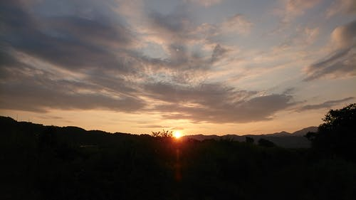Free stock photo of sunset glow