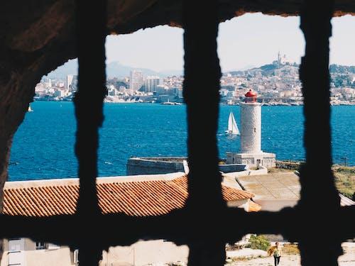 Foto d'estoc gratuïta de actitud, aigua, arquitectura, ciutat