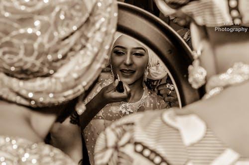 Free stock photo of bride, eye makeup, filter, filters