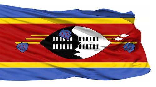 Kostnadsfri bild av blåser flagga, flyga flagga, swaziland flagga