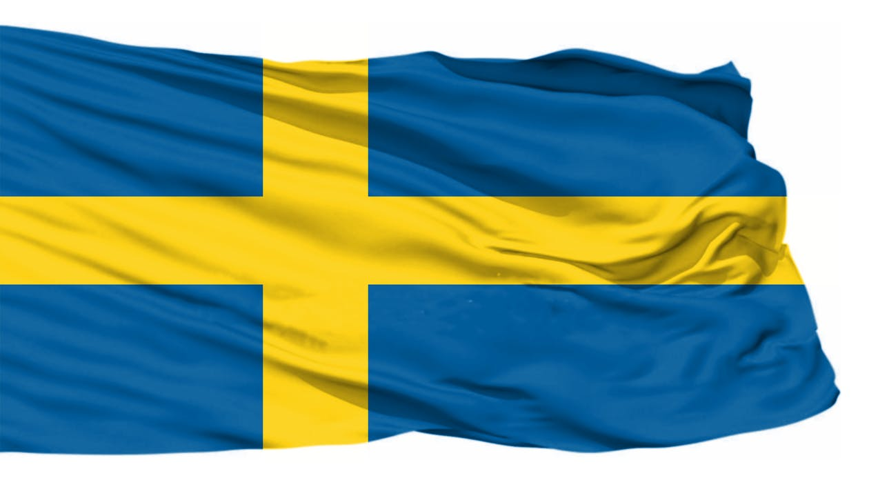 Free stock photo of sweden flag