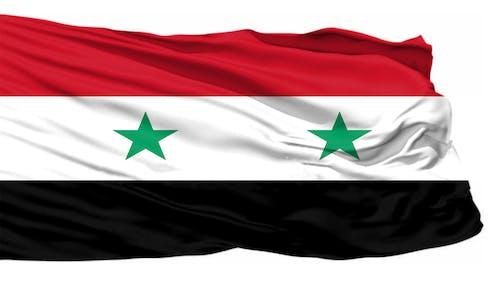 Kostnadsfri bild av syrien, syrien flagga