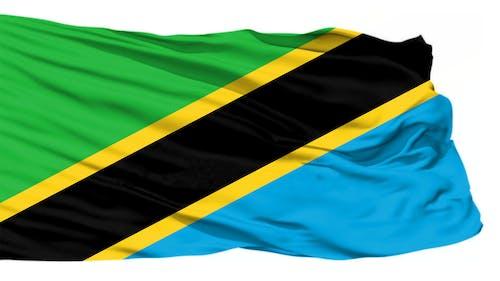 Kostnadsfri bild av tanzania flagga