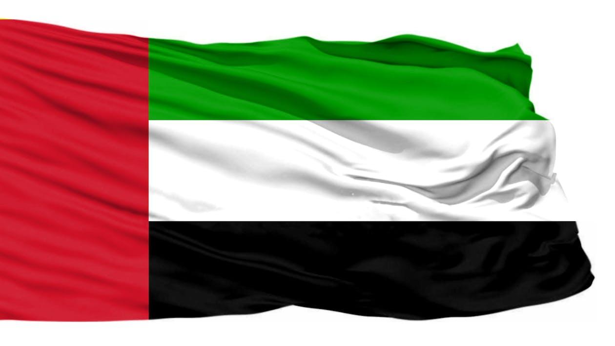 Free stock photo of UAE flag, united arab emirates