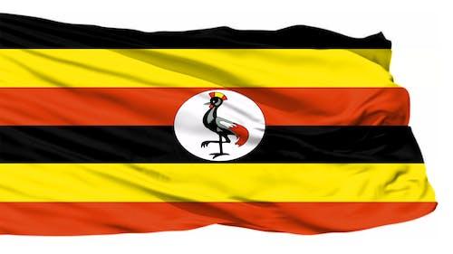 Kostnadsfri bild av uganda flagga