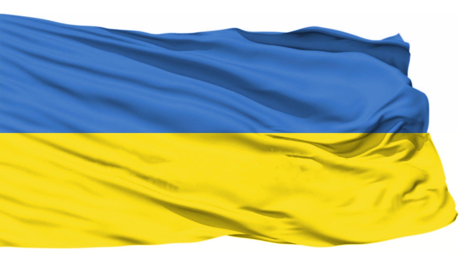 Kostenloses Stock Foto zu flagge, ukraine, ukraine-flagge