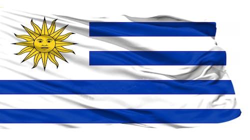 Kostnadsfri bild av uruguay flagga