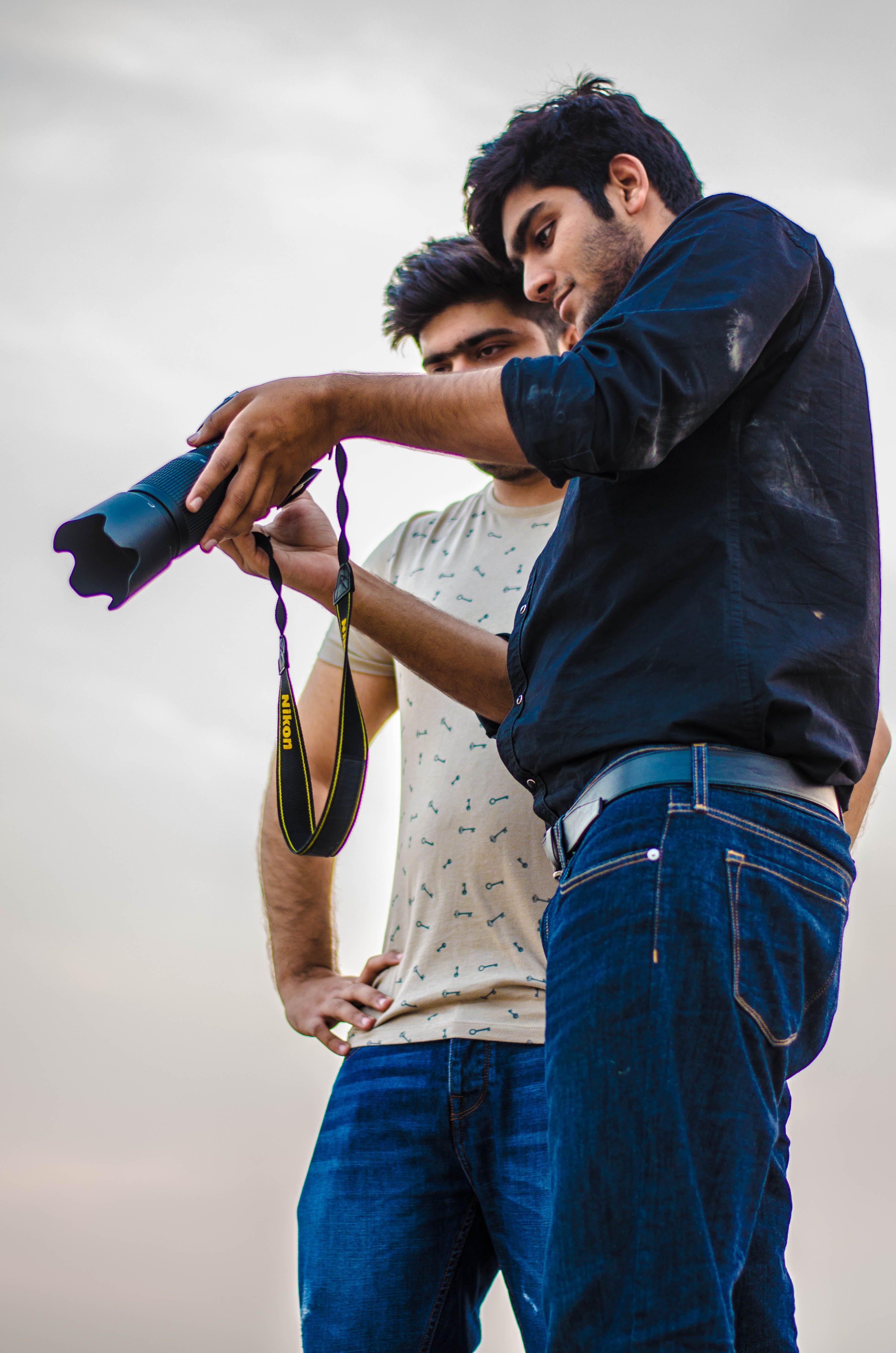 Kostenloses Stock Foto zu beste freunde, draussen, festbrennweite, fotograf