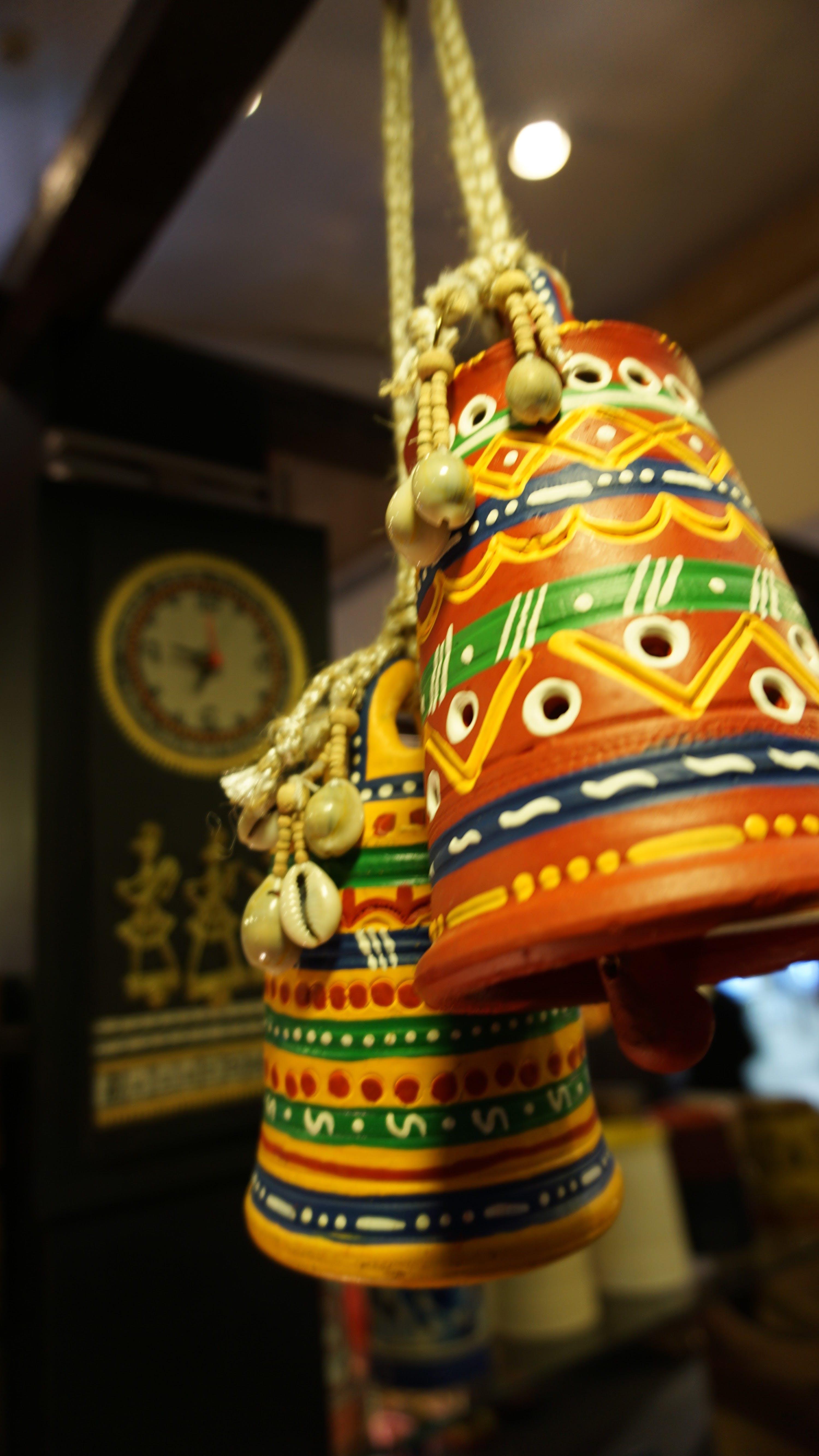 Foto d'estoc gratuïta de art, campanes, decoració d'interiors, decorar