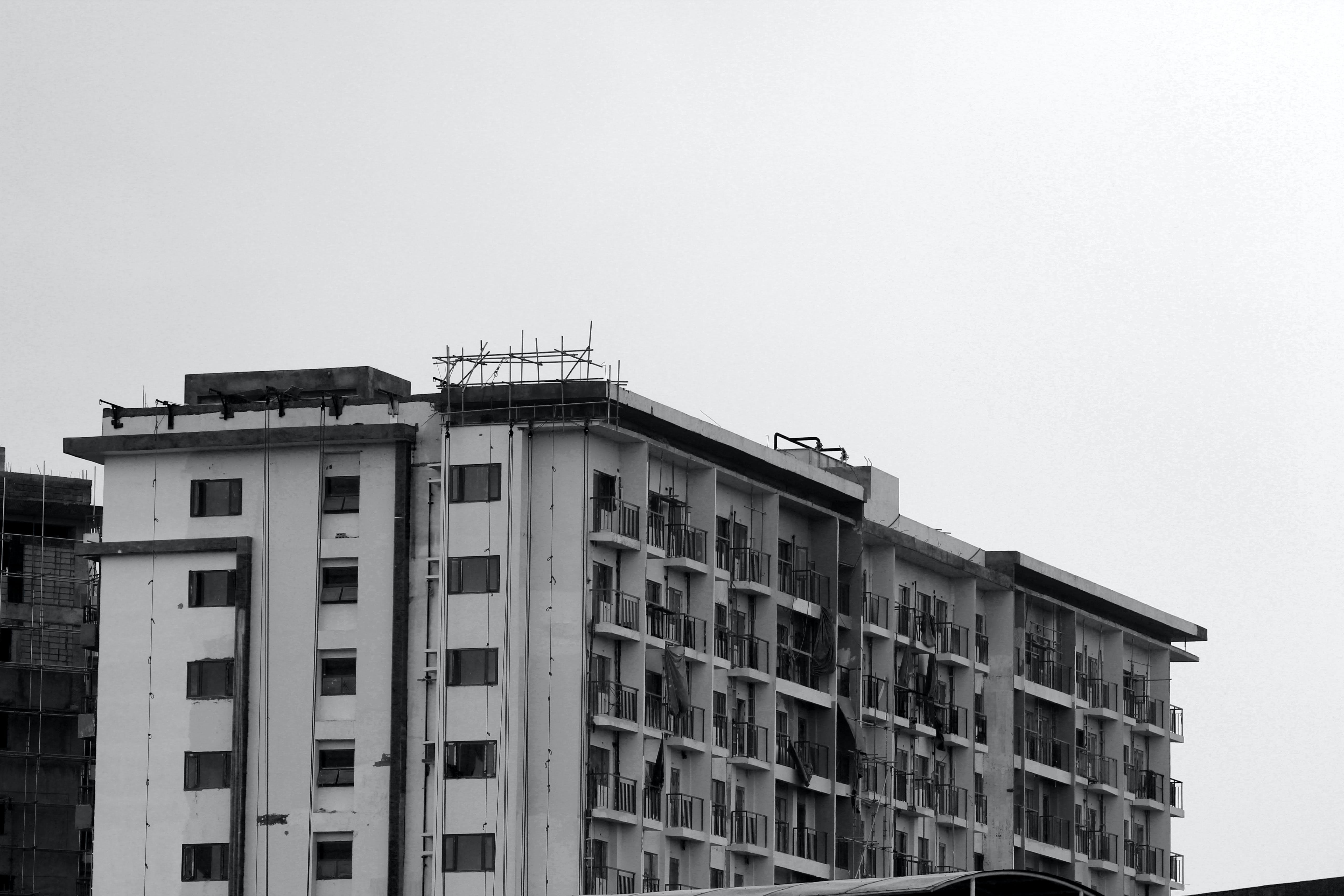 Free stock photo of Archintecture, building, condominium, construction