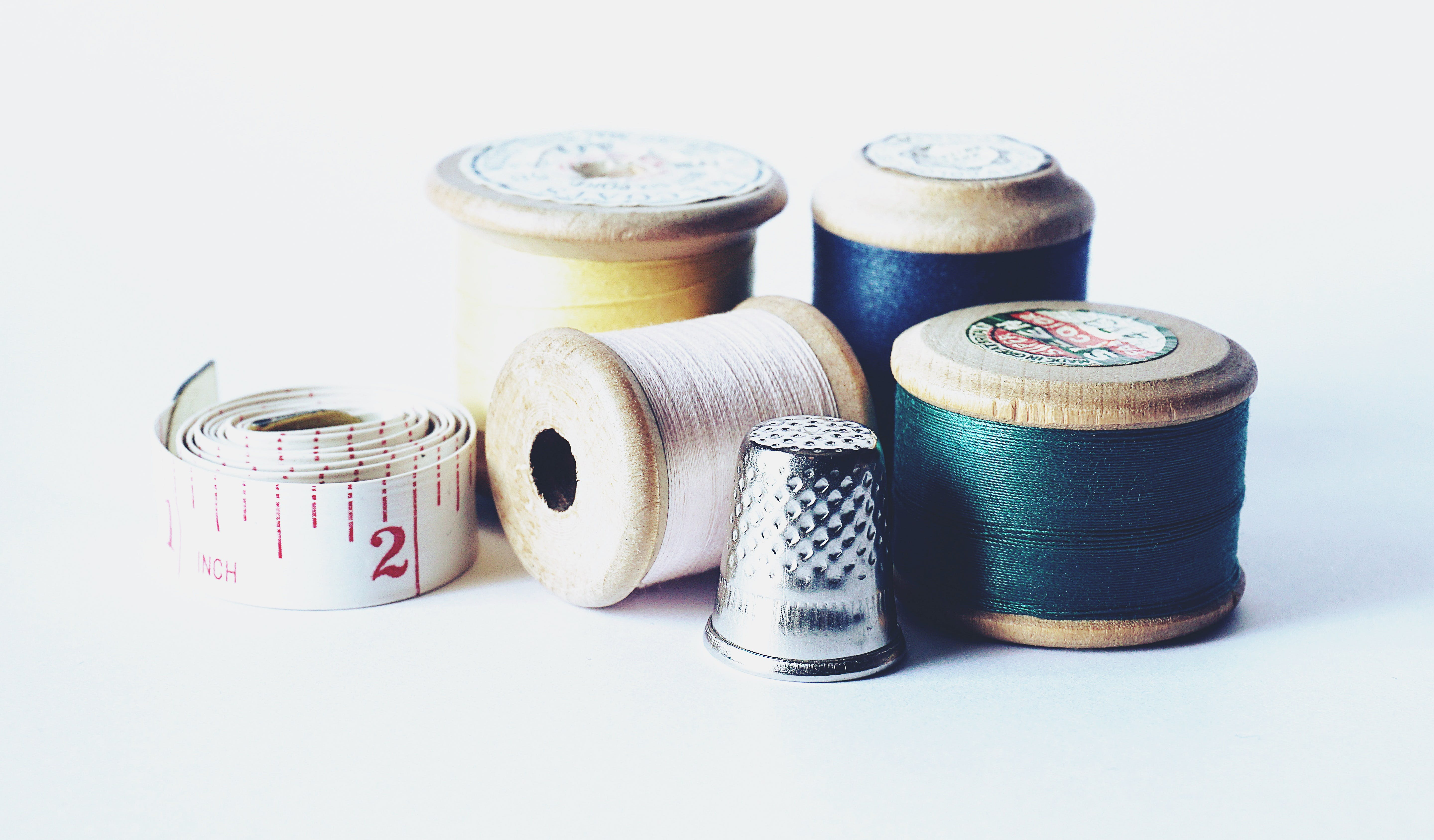 Free stock photo of arts and crafts, bobbin, close up, cotton reels