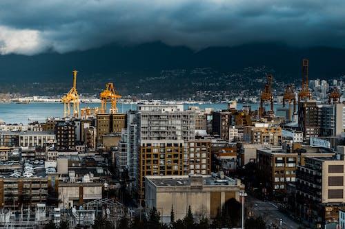 Бесплатное стоковое фото с архитектура, ванкувер, город, городской пейзаж