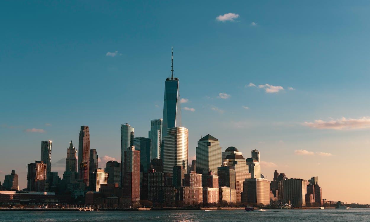 amerika, architectuur, binnenstad