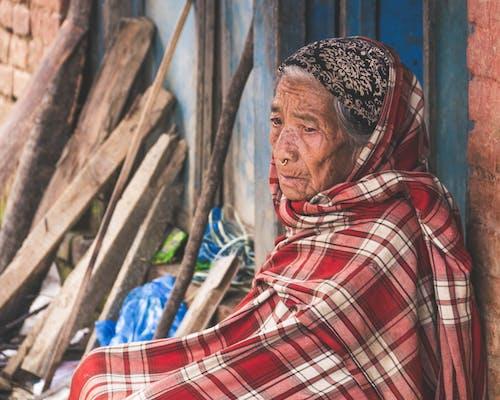 Free stock photo of nepal, red, woman