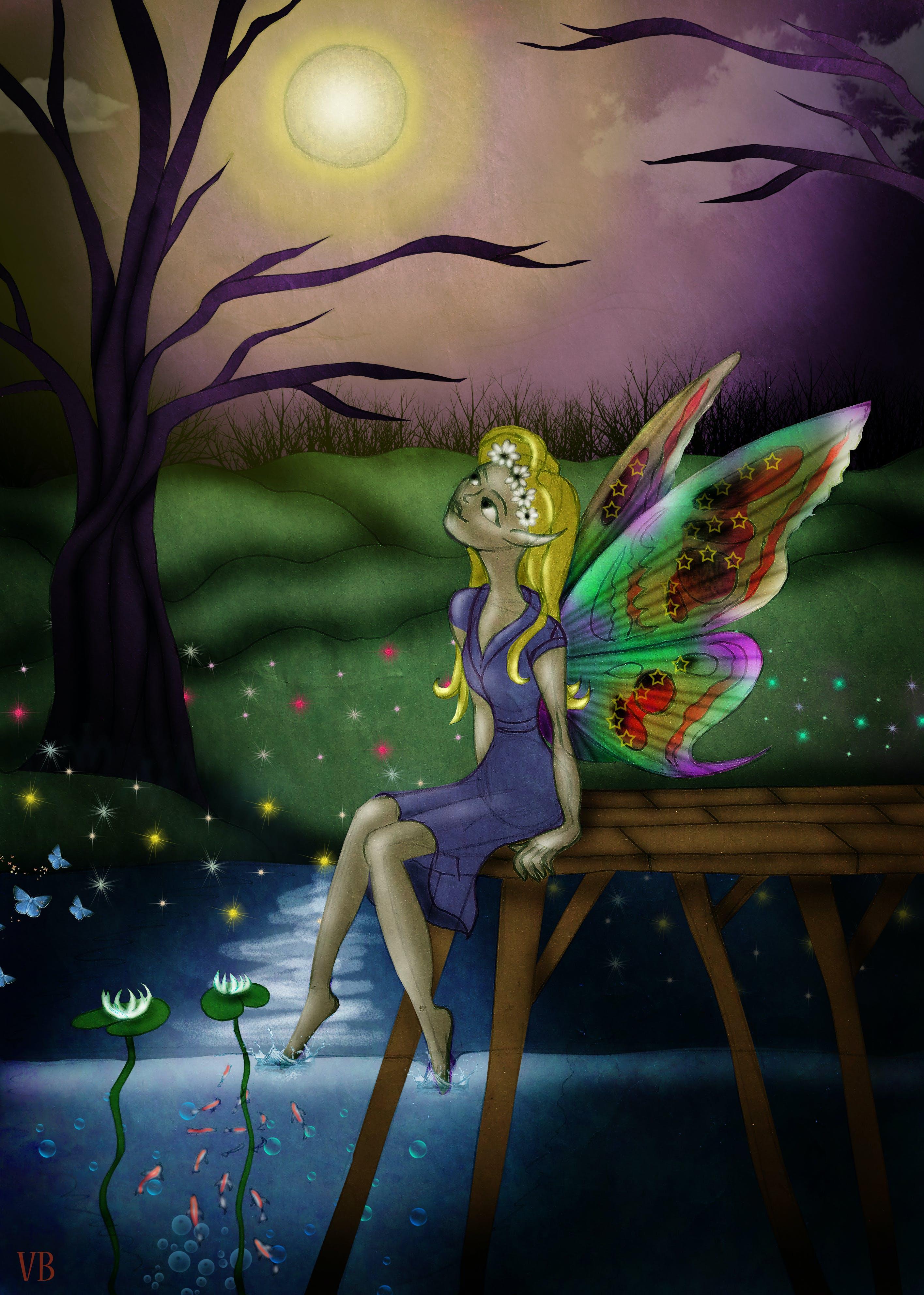 Free stock photo of elf, fantasy