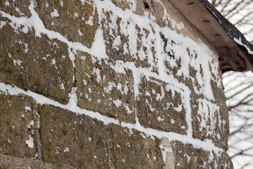 Free stock photo of dom, mróz, ośnieżony mur, snieg